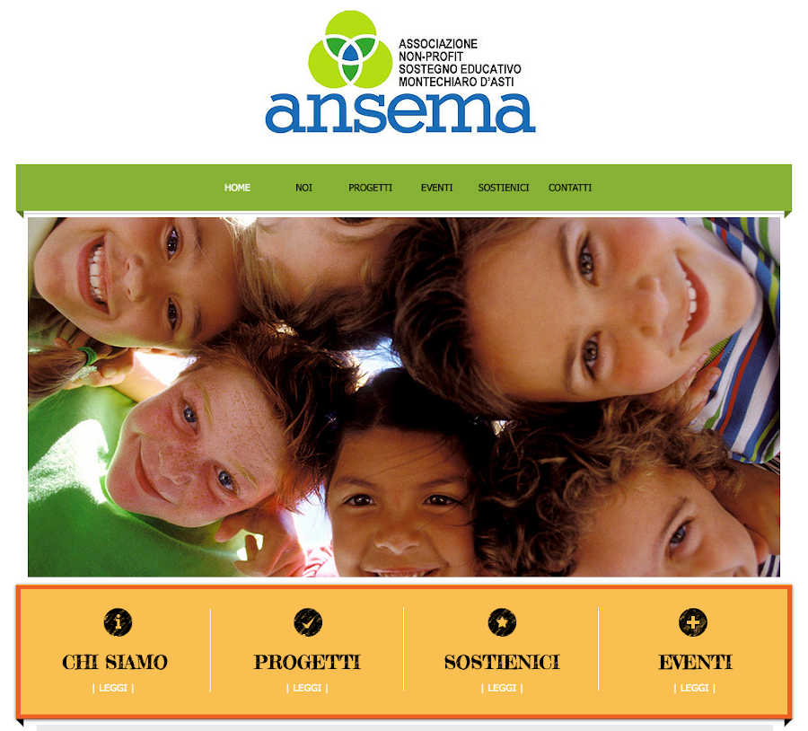 Immagine sito home Ansema