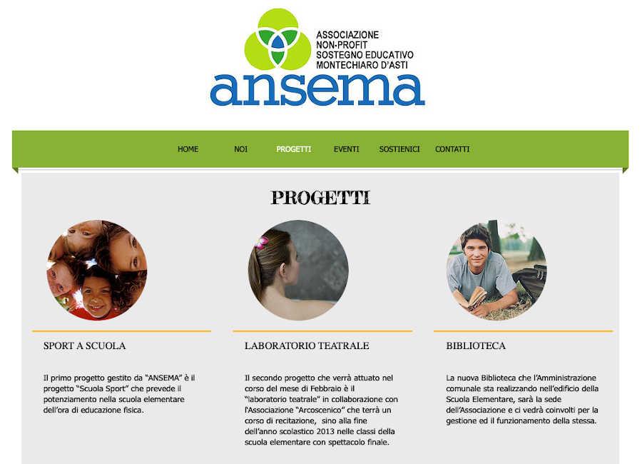 Immagine sito Ansema progetti